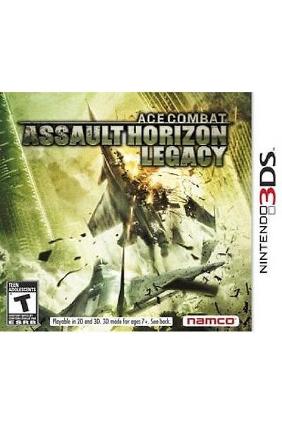 ACE COMBAT ASSAULT HORIZON LEGACY PER NINTENDO 3DS