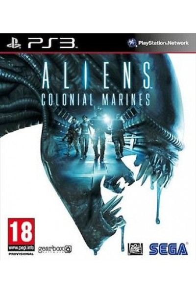 ALIENS COLONIAL MARINES PER SONY PS3 NUOVO