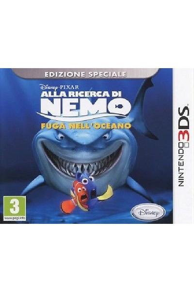 ALLA RICERCA DI NEMO FUGA NELL'OCEANO PER NINTENDO 3DS  NUOVO UFFICIALE ITALIANO
