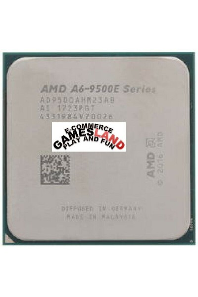 AMD A6-9500E SERIES AD950BAHM23AB DA 3,0GHZ A 3,40GHZ CPU TRAY AM4 PARI AL NUOVO