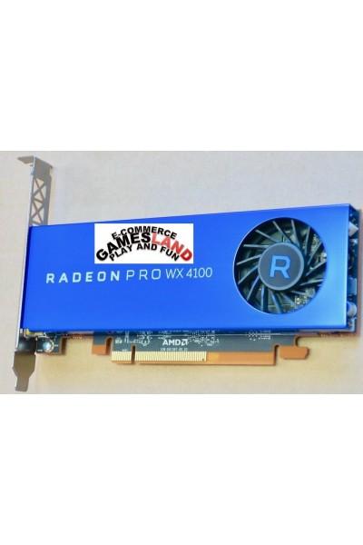 AMD RADEON PRO WX 4100 GPU DA 4 GB GDDR5 NVIDIA PCI-E 16X 3.0 PARI AL NUOVO BULK
