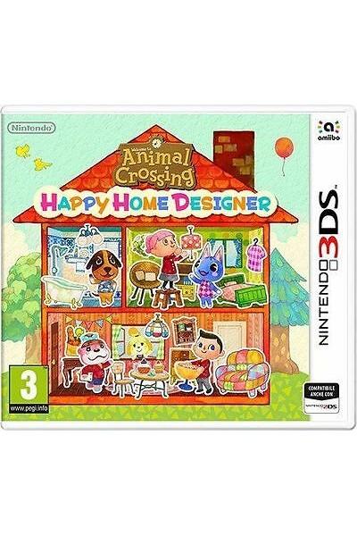 ANIMAL CROSSING:HAPPY HOME DESIGNER PER NINTENDO 3DS NUOVO UFFICIALE ITALIANO