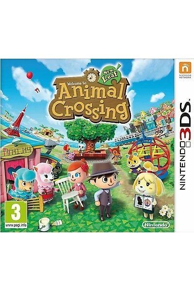 ANIMAL CROSSING:NEW LEAF PER NINTENDO 3DS NUOVO PRODOTTO UFFICIALE ITALIANO