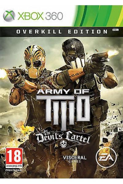 ARMY OF TWO THE DEVIL'S CARTEL PER XBOX 360 NUOVO PRODOTTO UFFICIALE ITALIANO