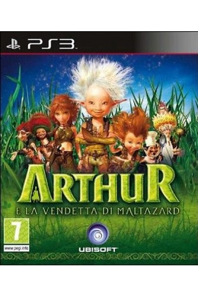 ARTHUR E LA VENDETTA DI MALTAZARD PER PS3 NUOVO IN ITALIANO