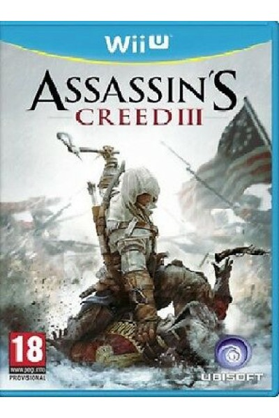 ASSASSIN'S CREED 3 PER NINTENDO Wii U NUOVO