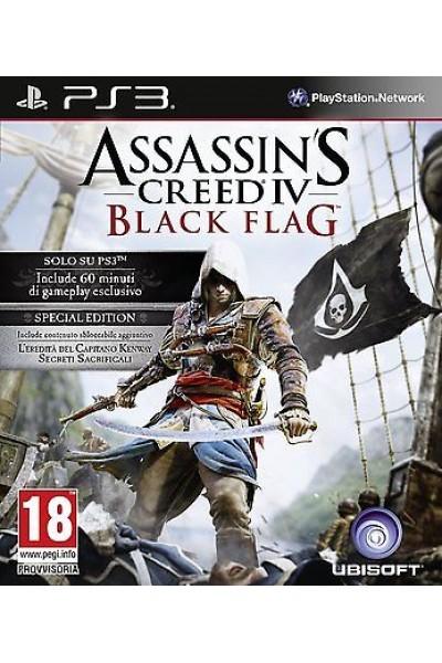 ASSASSIN'S CREED 4 BLACK FLAG PER PS3 COME NUOVO UFF. ITALIANO