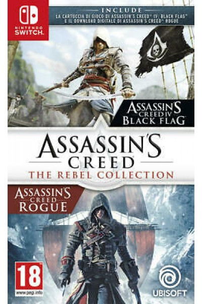 ASSASSIN'S CREED THE REBEL COLLECTION PER NINTENDO SWITCH UFFICIALE ITALIANO