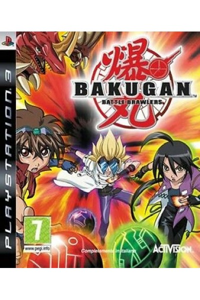 BAKUGAN:BATTLE BRAWLERS PER SONY PS3 NUOVO UFFICIALE ITALIANO
