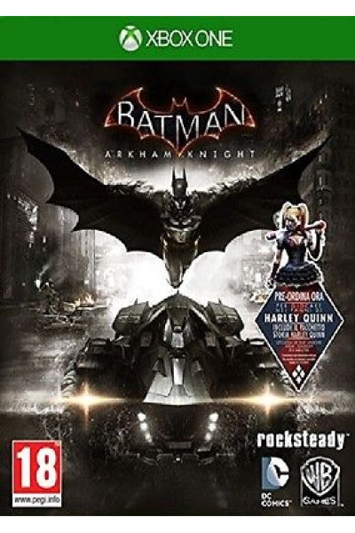 BATMAN ARKHAM KNIGHT PER XBOX ONE NUOVO SIGILLATO PRODOTTO UFFICIALE ITALIANO