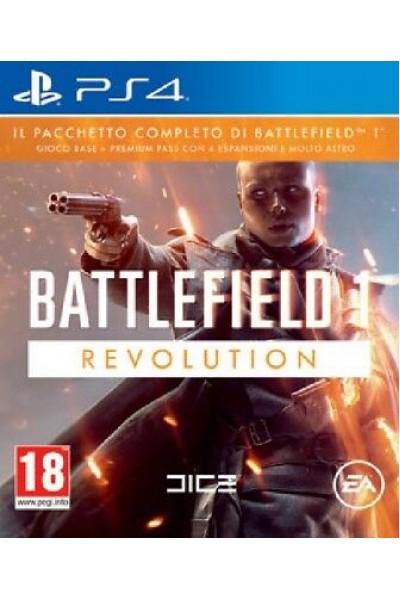 BATTLEFIELD 1 REVOLUTION PER SONY PS4 NUOVO PRODOTTO UFFICIALE ITALIANO