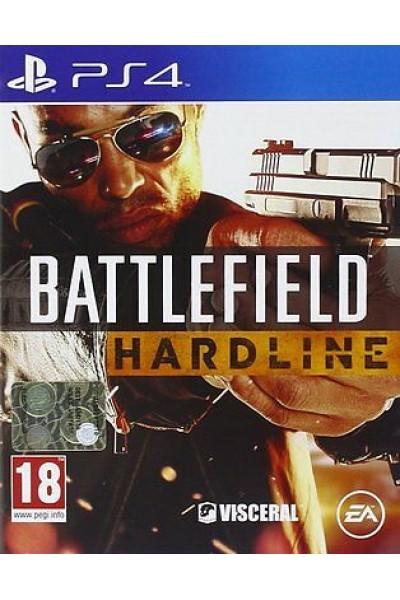 BATTLEFIELD HARDLINE PER SONY PS4 NUOVO PRODOTTO UFFICIALE ITALIANO