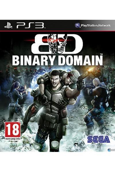 BINARY DOMAIN PER SONY PS3 NUOVO UFFICIALE ITALIANO