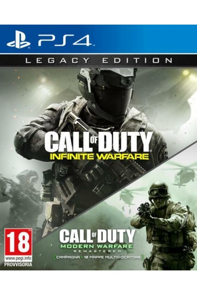 CALL OF DUTY INFINITE WARFARE LEGACY EDITION PER SONY PS4 NUOVO UFF. ITALIANO