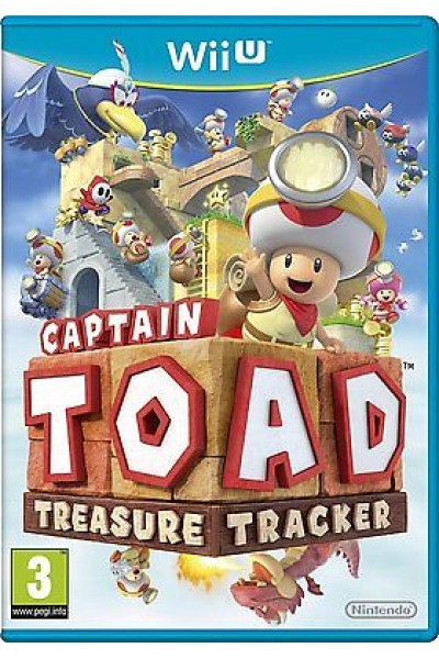 CAPTAIN TOAD:TREASURE TRACKER PER NINTENDO Wii U UFFICIALE ITALIANO
