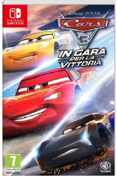 CARS 3 IN GARA PER LA VITTORIA PER NINTENDO SWITCH NUOVO UFFICIALE ITALIANO