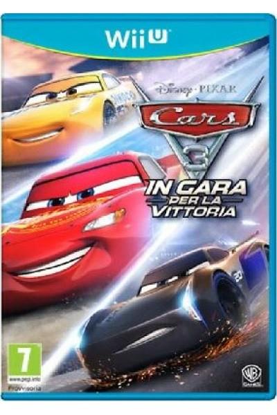 CARS 3 IN GARA PER LA VITTORIA PER NINTENDO Wii U NUOVO PROD. UFFICIALE ITALIANO
