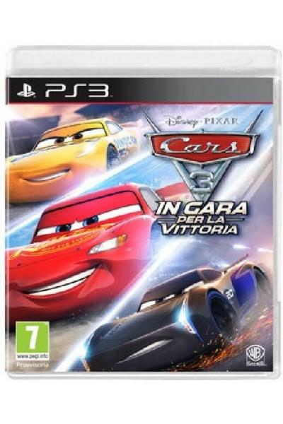 CARS 3 IN GARA PER LA VITTORIA PER SONY PS3 NUOVO PRODOTTO UFFICIALE ITALIANO