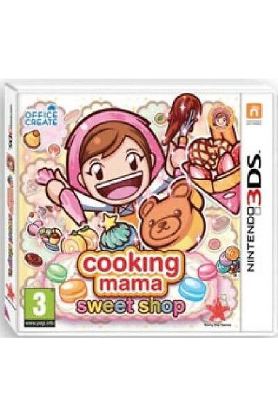 COOKING MAMA SWEET SHOP PER NINTENDO 3DS NUOVO PRODOTTO UFFICIALE ITALIANO