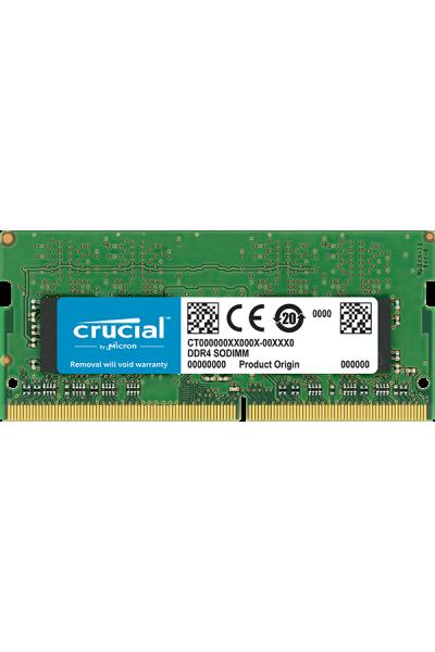 CRUCIAL DDR4 SODIMM LAPTOP 2400 MHZ 4GB PC4 19200 1.2V CL17 CT4G4SFS824A 260 PIN