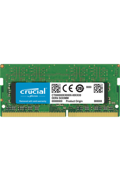 CRUCIAL DDR4 SODIMM LAPTOP 2400 MHZ 4GB PC4 19200 1.2V CL17 CT4G4SFS824A 260 PIN