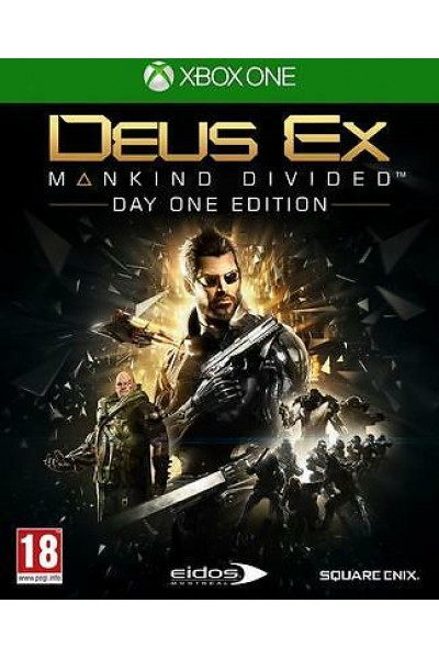 DEUS EX MANKIND DIVIDED PER XBOX ONE NUOVO SIGILLATO PRODOTTO UFFICIALE ITALIANO