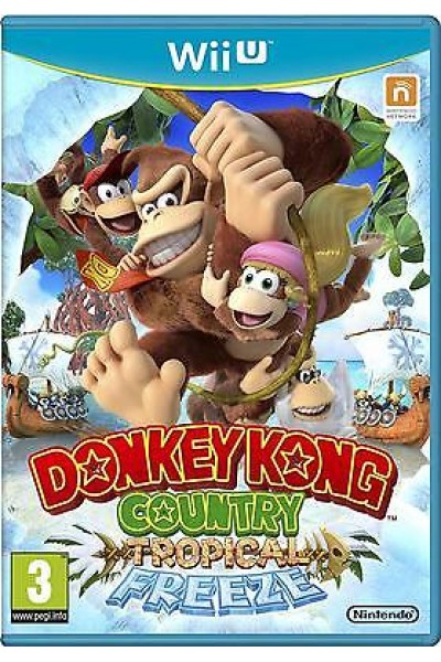 DONKEY KONG COUNTRY:TROPICAL FREEZE PER NINTENDO Wii U NUOVO UFFICIALE ITALIANO