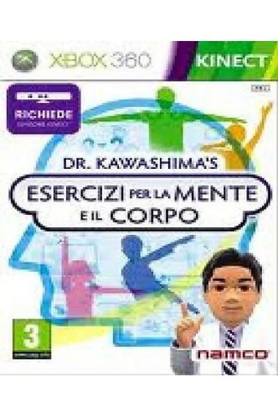 DR.KAWASHIMA: ESERCIZI PER LA MENTE E IL CORPO XBOX 360 SPED. DA NEGOZIO ITALIA