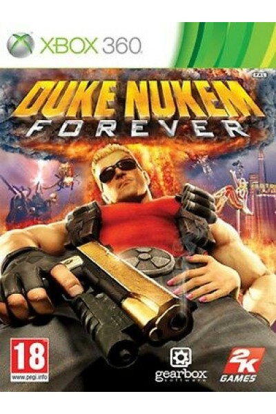 DUKE NUKEM FOREVER PER XBOX 360 NUOVO