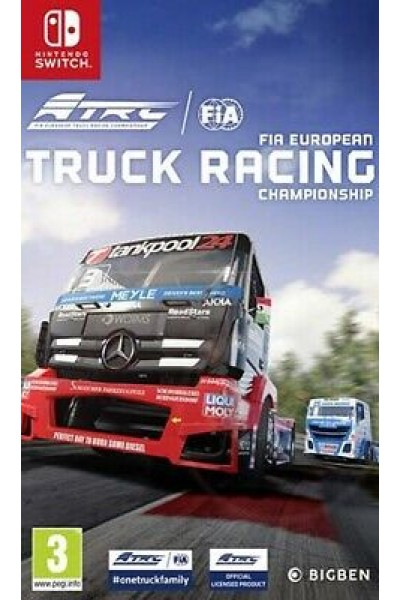 FIA EUROPEAN TRUCK RACING CHAMPIONSHIP PER NINTENDO SWITCH UFFICIALE ITALIANO