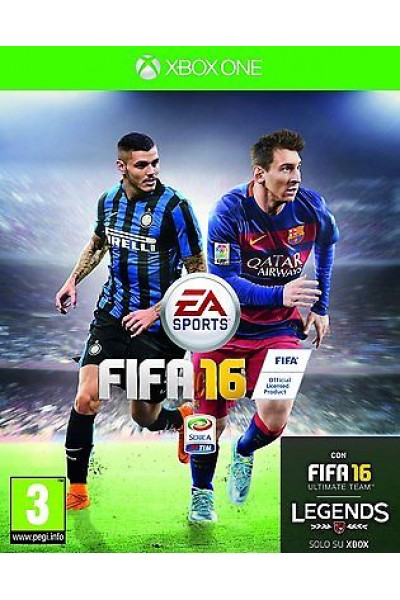FIFA 16 PER XBOX ONE NUOVO SIGILLATO PRODOTTO UFFICIALE ITALIANO