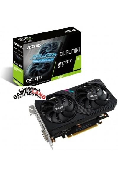 GPU ASUS GEFORCE GTX 1650 DUAL MINI OC 4GB GDDR6 DISPLAY PORT-HDMI-DVI-NVIDIA