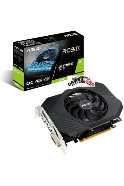 GPU ASUS PHOENIX GEFORCE GTX 1650 OC ED. 4GB GDDR6 DISPLAY PORT-HDMI-DVI-NVIDIA