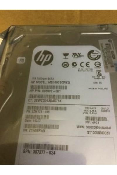 HARD DISK HP MB1000ECWCQ 695502-001.0 TB 3,5