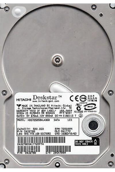 HARD DISK INTERNO SATA 500 GB 3,5