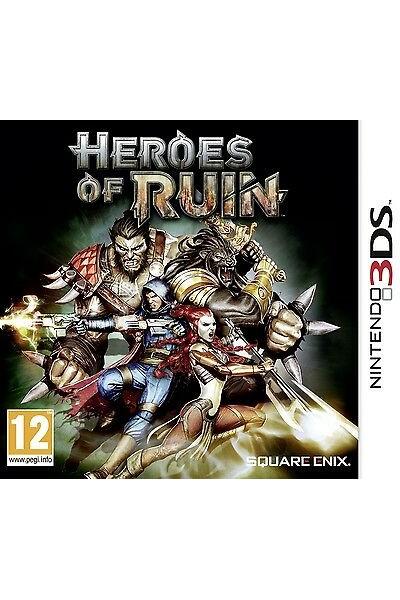 HEROES OF RUIN PER NINTENDO 2DS/3DS NUOVO UFFICIALE ITALIANO