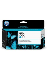 HP DESIGNJET 730 CARTUCCIA CIANO ORIGINALE P2V62A PER HP DESIGNJET T1700 S