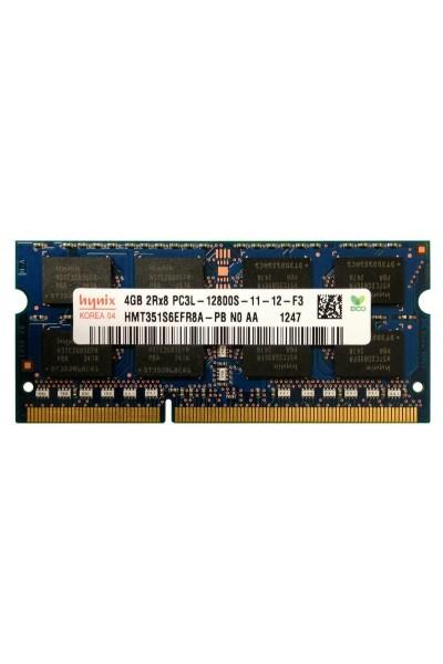 HYNIX DDR3 LAPTOP 1600 MHZ 4GB 2RX8 PC3L 12800S-11-12-F3 HMT351S6EFR8A-PB-N0-AA