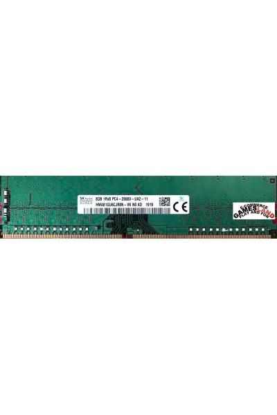 HYNIX DDR4 RAM DESKTOP 2666 MHZ 8GB 1RX8 PC4 2666V-UA2-11 HMA81GU6CJR8N-VK N0 AD