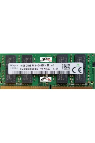 HYNIX DDR4 RAM LAPTOP 2666 MHZ 16GB 2RX8 PC4 2666V-SE1-11 HMA82GS6CJR8N-VK N0 AC