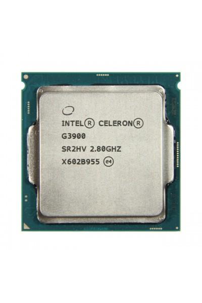 INTEL CELERON G3900 2.80GHZ CPU TRAY SKYLAKE 6TH GEN PARI AL NUOVO SR2HV LGA1151