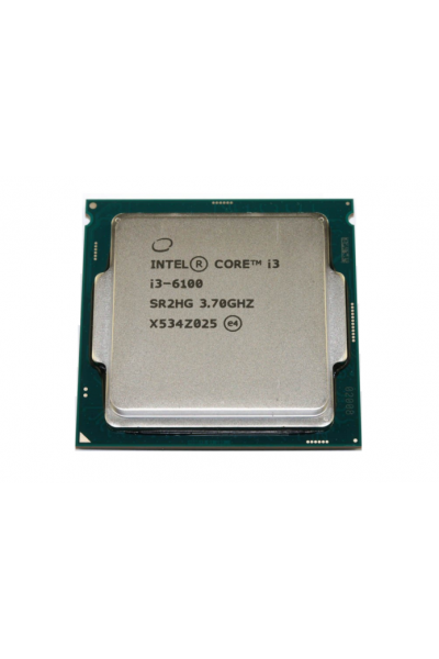 INTEL CORE i3-6100 TRAY 3.7 GHZ  6TH GEN. PROCESSORE SR2HG PARI AL NUOVO TRAY
