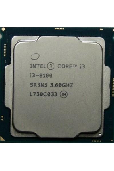 INTEL CORE i3-8100 4 CORE 3.60 GHZ 8TH GENERAZIONE CPU SR3N5 LGA1151 GARANZIA