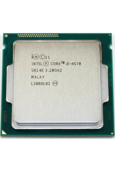 INTEL CORE i5-4570 3.20GHZ TURBO 3.60GHZ CPU LGA 1150 SR14E PARI AL NUOVO