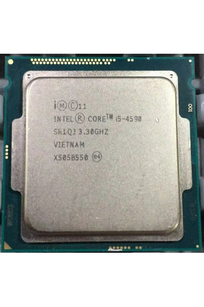 INTEL CORE i5-4590 3.30GHZ TURBO 3.70GHZ PROCESSORE LGA 1150 SR1QJ PARI AL NUOVO