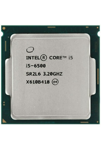 INTEL CORE i5-6500  3.20 GHZ TURBO 3.60 GHZ 4-CORE CPU SR2L6 + DISSIPATORE INTEL