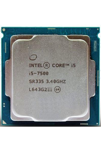 INTEL CORE i5-7500 3.4 GHZ TURBO 3.80 GHZ PROCESSORE SR335 LGA1151 PARI AL NUOVO