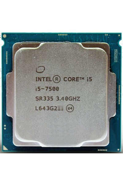 INTEL CORE i5-7500 3.40GHZ TURBO 3.80GHZ CPU TRAY NUOVO INTEL SR335 LGA1151