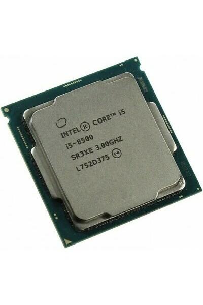 INTEL CORE i5-8500 6 CORE DA 3.0GHZ A 4.10GHZ CPU NUOVO SR3XE 8TH GEN GARANZIA