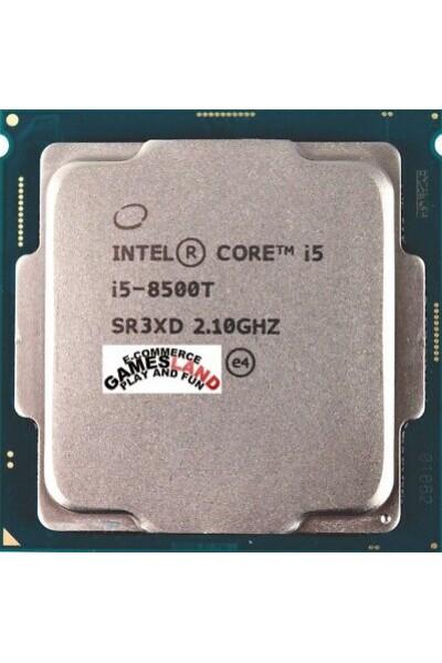 INTEL CORE i5-8500T 6 CORE DA 2.10GHZ A 3.50GHZ CPU NUOVO SR3XD 8TH GEN GARANZIA